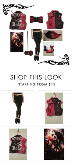 """""""harley's just a bad xss bxtch"""" by emogirlforlife ❤ liked on Polyvore featuring Burton"""