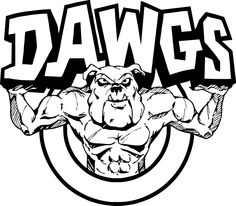 school bulldog coloring pages - photo#28