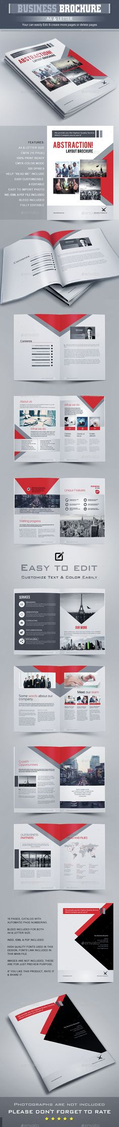 Brochure Template InDesign INDD. Download here: http://graphicriver.net/item/brochure-template/14669122?ref=ksioks
