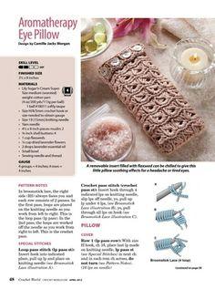 Häkeln Brillenetui / crochet pattern