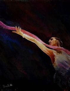 mamun by Strekosa Design Gymnastics Posters, Rhythmic Gymnastics, Ballet, Margarita, Dance, Watercolor, Drawings, Creative, Painting