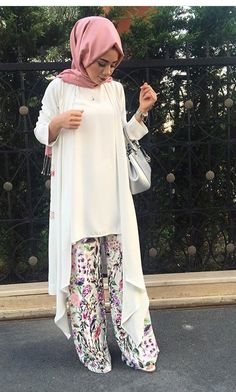 Islamic Fashion, Muslim Fashion, Modest Fashion, Girl Fashion, Fashion Outfits, Hijab Style, Hijab Chic, Modest Wear, Modest Outfits