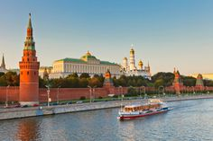 Nothing says Russia like the golden domes of the Kremlin