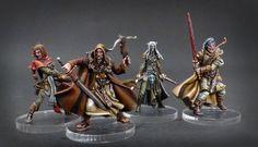 Survivors Black Plague / Box Hero / Wulfsburg - Gangeek Style Fantasy Board Games, Zombicide Black Plague, Stormcast Eternals, Nerd, Fantasy Model, Minis, Fantasy Miniatures, Warhammer Fantasy, Painted Boxes