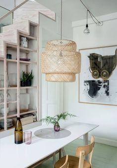 Billedresultat for ikea sinnerlig lampe Decor, Beautiful Interior Design, Kitchen Floor Lamps, House Inspiration, Lamp, Interior, Home Decor, Ikea Lamp, Ikea