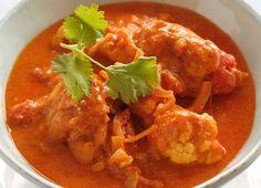kylling curry i en skål
