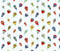 flotteurs_couleur fabric by nadja_petremand on Spoonflower - custom fabric