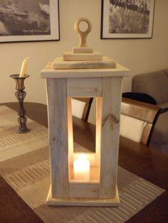 Lampa na świecę - latarnia