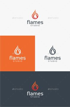 Flames -   Logo Design Template Vector #logotype Download it here: http://graphicriver.net/item/flames-logo-template/10599050?s_rank=1300?ref=nexion