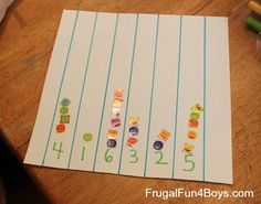 5 Hands-on Number Activities for Preschoolers