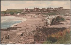 Maer Beach, Bude, Cornwall, 1924 - Frith's Postcard