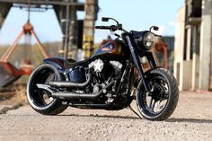 Harley-Davidson Fat Boy / Thunderbike Noisy Boy #Custom #Motorcycle