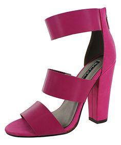 Look at this #zulilyfind! Michael Antonio Pink Joxy Sandal by Michael Antonio #zulilyfinds