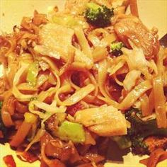 Pad+See-Ew on BigOven: Also+known+as+Phat+Si+Io,+Pas+See-Ew+is+a+Chinese-influenced+stir+fried+noodle+dish+that+is+commonly+eaten+as+street+food+in+Laos+and+Thailand.+It+is+also+quite+popular+in+Lao+and+Thai+restaurants+around+the+world.