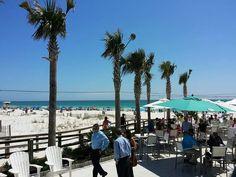 Pensacola Beach Pier in Florida