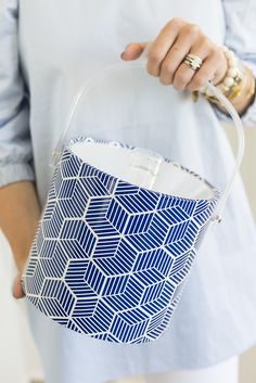 The perfect ice bucket for summer entertaining!