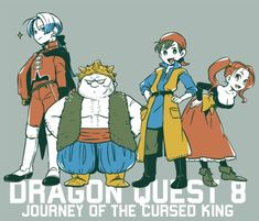Dragon Quest 8, Chrono Trigger, Gamer Room, Cursed Images, Akira, Naruto, Fan Art, Manga, Illustration