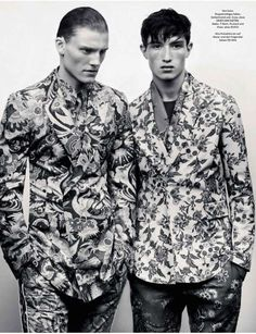Eclectic Couture Captures : GQ Germany Spring/Summer 2014