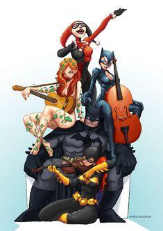 Ahora se entiende porque Batman, es serio y solitario