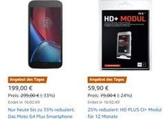 """Amazon: HD PLUS CI+ Modul mit Karte (12 Monate) für 59,90 Euro https://www.discountfan.de/artikel/technik_und_haushalt/amazon-hd-plus-ci-modul-mit-karte-12-monate-fuer-59-90-euro.php Als """"Angebot des Tages"""" gibt es bei Amazon jetzt ein HD PLUS CI+ Modul für zwölf Monate inklusive HD+-Karte zum Schnäppchenpreis von 59,90 Euro frei Haus. Damit können 20 private Free-TV-Programme in HD über Astra empfangen werden. Amazon: HD PLUS CI+ Modul mit Karte (12 Monat"""