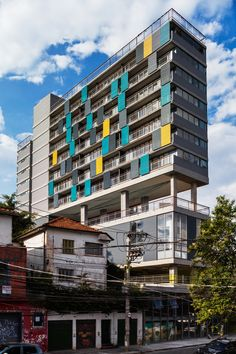 Completed in 2015 in São Paulo, Brazil. Images by Nelson Kon. Vila Madalena, a bohemian neighborhood in São Paulo, is one of the city's most traditional places. Congregating residential buildings, shops,...