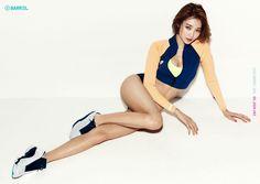 Go JoonHee #고준희 (Kim EunJoo 김은주) 2015 Barrel Girl photoshoot #래쉬가드 #단발머리 #여배우 2015바럴걸 #화보