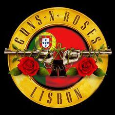 Diário Feminino: Guns N Roses |  A Espera do Show - Lisboa 2017