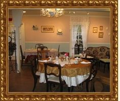 The Saint James Tea Room, located in the historic town of Georgetown, Colorado, Dusty Rose