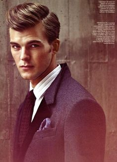 Patrick Kafka for GQ Style Italy (Oct 12)