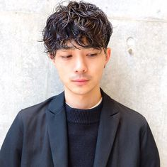 (notitle) Sure, the bushy perms of the might be out of vogue, but there are plenty of hair perms Men Perm, Wavy Perm, Pop Hair, Different Types Of Curls, Getting A Perm, Really Long Hair, Air Dry Hair, Permed Hairstyles, Haircuts For Men
