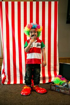 """Photo 1 of 37: Circus/Carnival / Birthday """"Roll Up Roll Up Circus Carnival Party"""" 