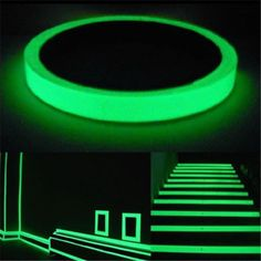 Luminous Tape Glow In The Dark Safety Self-adhesive Stage Home Design Decals 1M