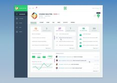 Beautiful Course Dashboard UI Kit For Web & Mobile Apps 2015