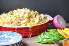 Sausage Peppers and Onions Pasta Casserole. #SundaySupper. Find more recipes like this at www.sundaysuppermovement.com