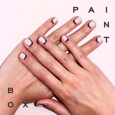 The Right Angle #paintboxmani #nails #nailart