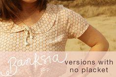 Banksia sewalong: no placket