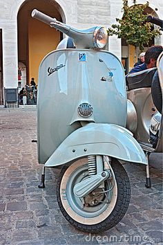 Italian scooter by Ermess, via Dreamstime