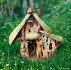 Summer Fairy House by willodel on Etsy, $64.00