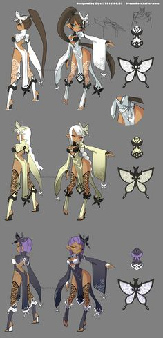 DragonNest Costume design-Kali by ZiyoLing.deviantart.com on @deviantART ★ || CHARACTER DESIGN REFERENCES (www.facebook.com/CharacterDesignReferences & pinterest.com/characterdesigh) • Love Character Design? Join the Character Design Challenge (link→ www.facebook.com/groups/CharacterDesignChallenge) Share your unique vision of a theme every month, promote your art and make new friends in a community of over 20.000 artists! || ★
