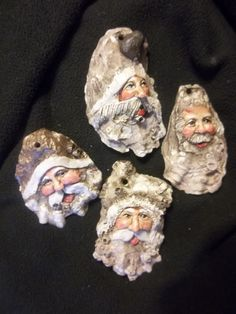 Santa Oryster shell/image only [8742683233c8791d650ca63bd8025dc1.jpg (736×981)]