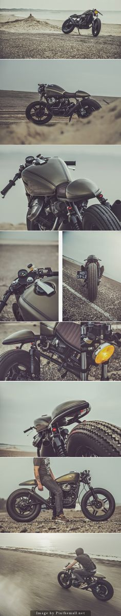 Honda CX500 Cafe Racer by Nozem Caferacer #caferacer #motos #motorcycles | caferacerpasion.com