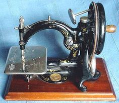 The Willcox & Gibbs Sewing Machine Company was founded in 1857 by James Edward Allen Gibbs and James Willcox with the first machines being finished in November 1858.