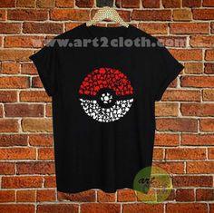Pokeball Pokemon Character T Shirt