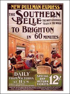 AP525 - Brighton Railway Poster, 1909. Artist: Edward Sharland