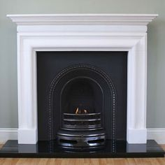 I need to start looking at fireplaces, quite like this one - Victorian Fireplace Company, London UK - William IV Marble Fire Surround Mantel Fireplace Seating, Fireplace Bookshelves, Paint Fireplace, Cast Iron Fireplace, Victorian Fireplace, Limestone Fireplace, Small Fireplace, Bedroom Fireplace, Fireplace Hearth