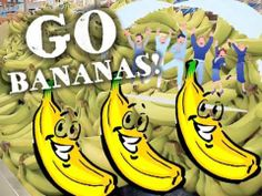 The Banana Song!    The students love to start out the day with this full-body experience.    I've seen various motions done for the different parts... Take your pick!