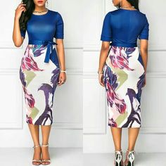 Latest latest african fashion look African Attire, African Fashion Dresses, African Dress, Trendy Clothes For Women, Trendy Dresses, Pretty Outfits, Beautiful Outfits, Girl Fashion, Fashion Outfits