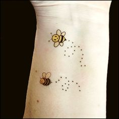 Temporary tattoos honey bees tattoos fake by SharonHArtDesigns