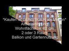 *Kaufen ist GÜNSTIGER als Mieten* in 46117 Oberhausen ca. 62 qm 3,5 Raum Wohnung (z.Z. 2,5 Raum) mit Balkon sehr GÜNSTIG zu verkaufen! https://youtu.be/EV7TBZIJjIY