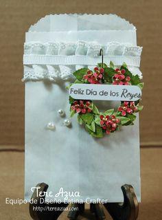 Glassine bags  #http://pinterest.com/latinacrafter/frases-navidenas/